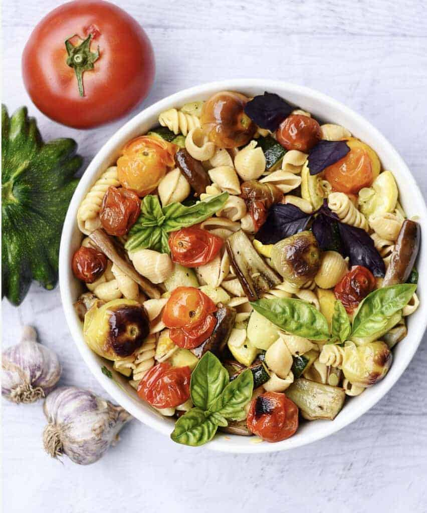 Farmers-Market-Vegetable-Chickpea-Pasta-Vegan-Recipe-1