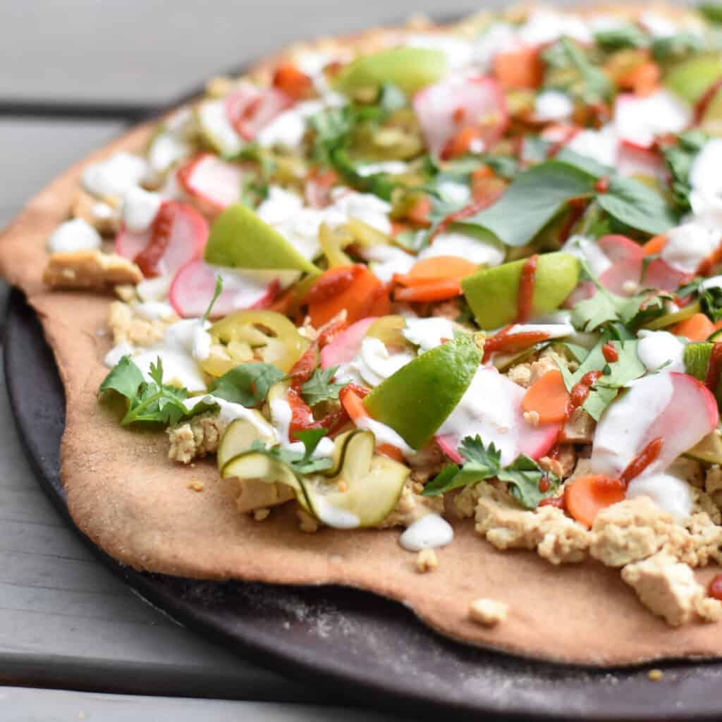 Bahn Mi Vegan Pizza Recipe Herbivores Kitchen