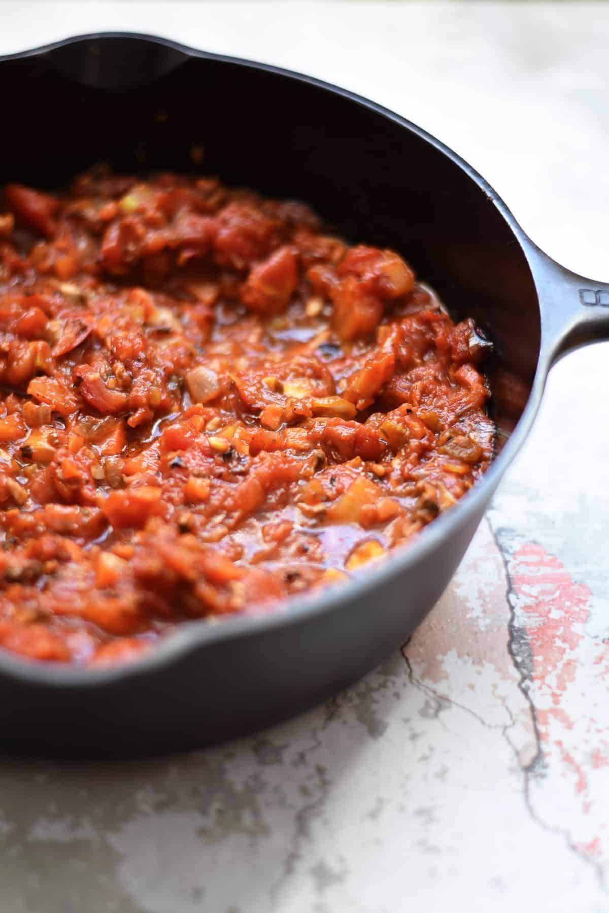 Garden Vegetable Homemade Tomato Sauce