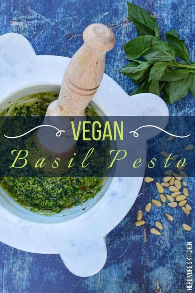 The Best Vegan Pesto