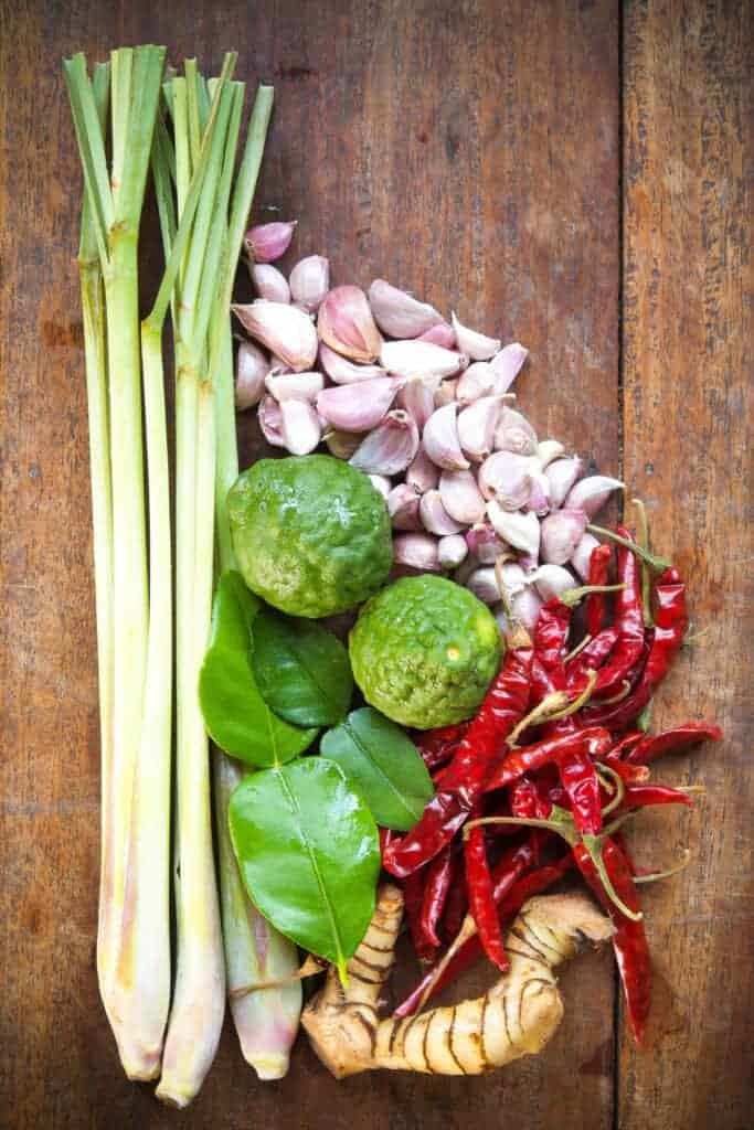 Thai Green Curry Paste Ingredients