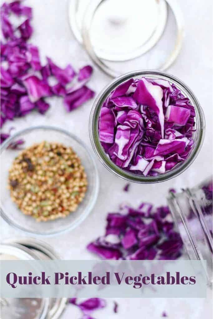 Pickled Purple Cabbage