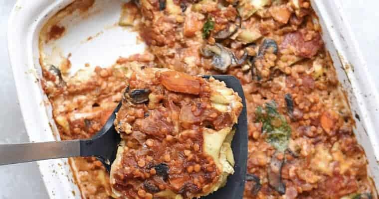 Easy Vegan Lasagna Recipe