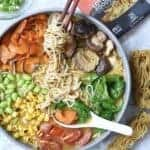 Veggie Loaded Easy Vegan Ramen Soup