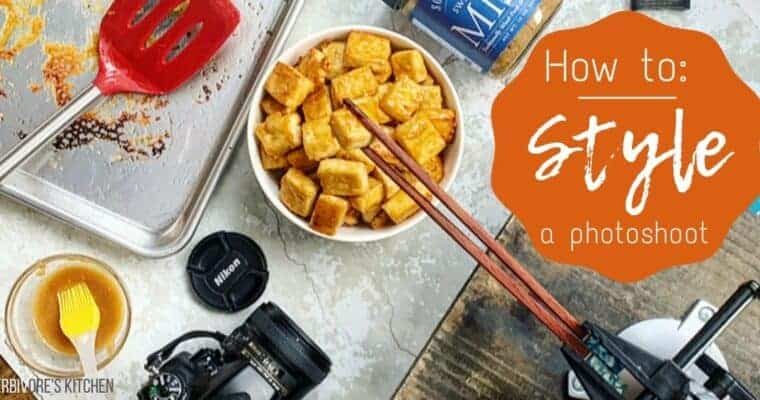 Food Photography: How I Styled This Miso-Glazed Tofu for My Food Blog