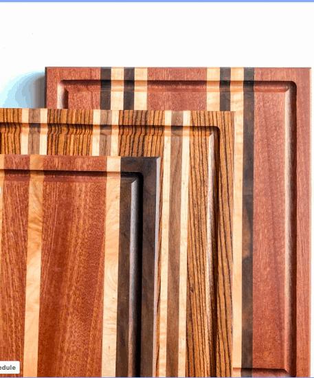 Premium Wood Cutting Board Etsy