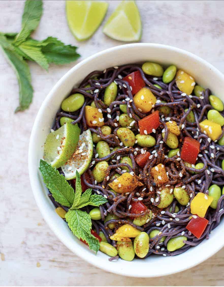 Summer Fresh Ramen Noodle Salad