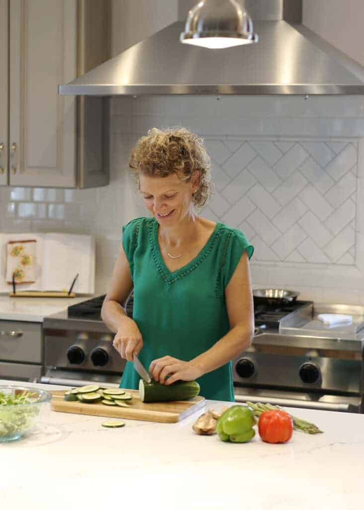 Kate Friedman Herbivore's Kitchen Headshot