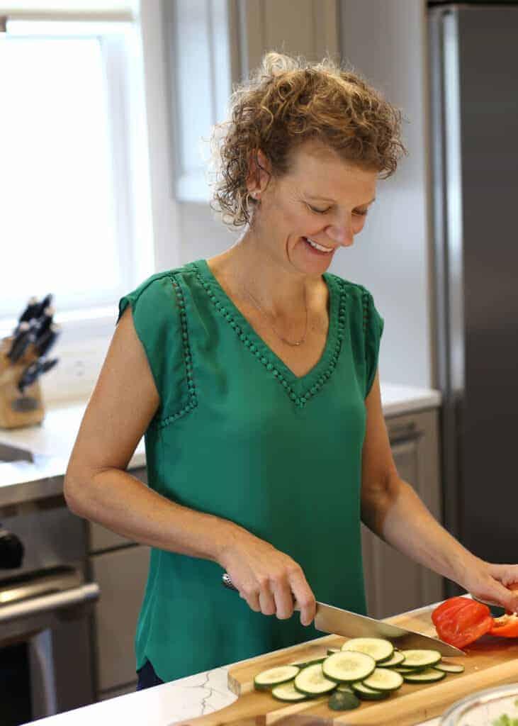 Kate Friedman Herbivore's Kitchen Headshot