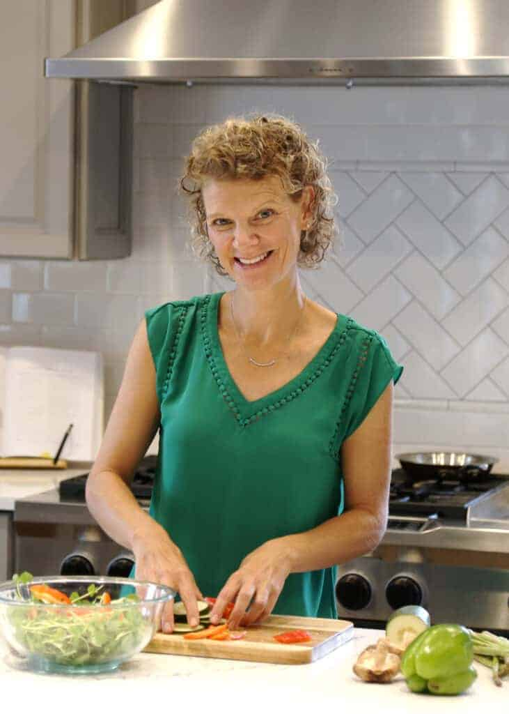 Food Blogger Kate Friedman Herbivore's Kitchen Headshot