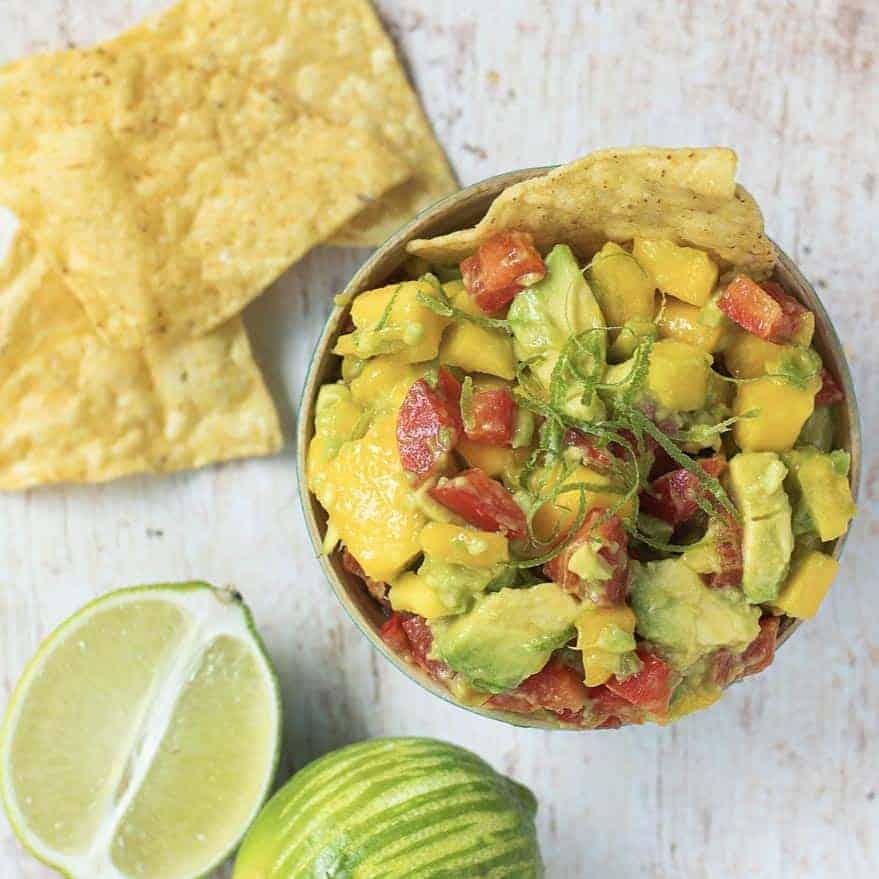 The Best Mango Guacamole Recipe