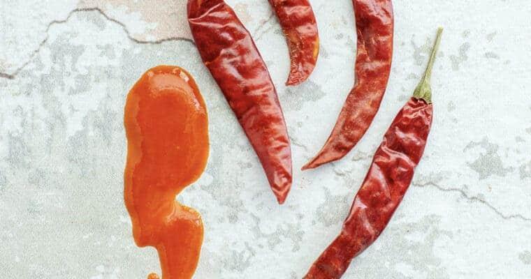 Chile de Árbol Hot Sauce Recipe