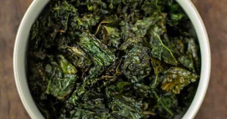 The Best Baked Kale Chips Recipe