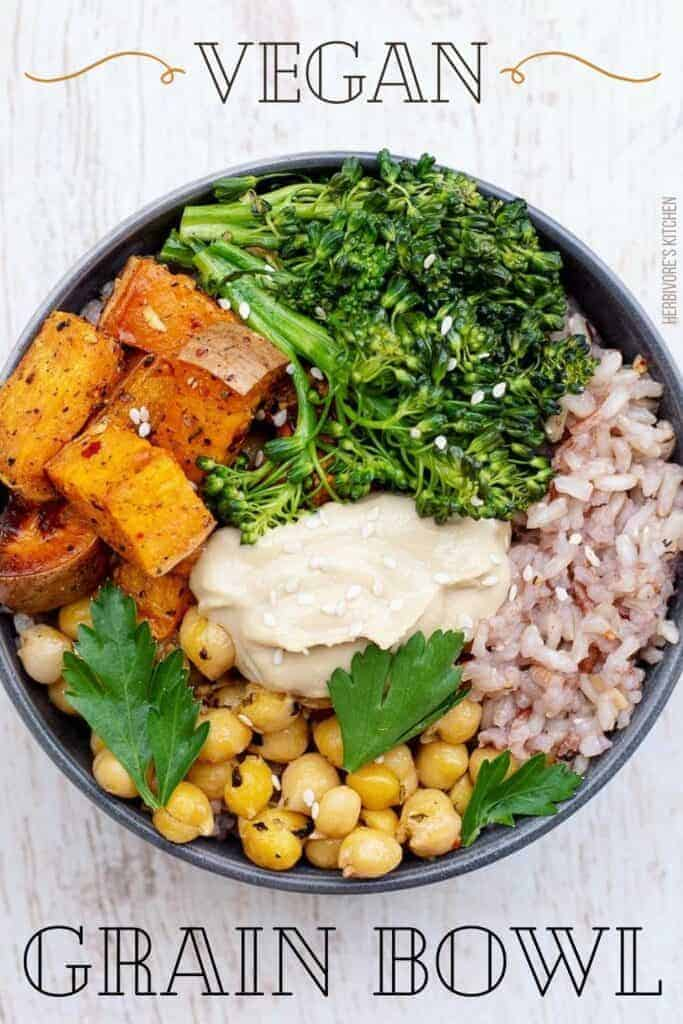 Mediterranean-Inspired Vegan Buddha Bowl