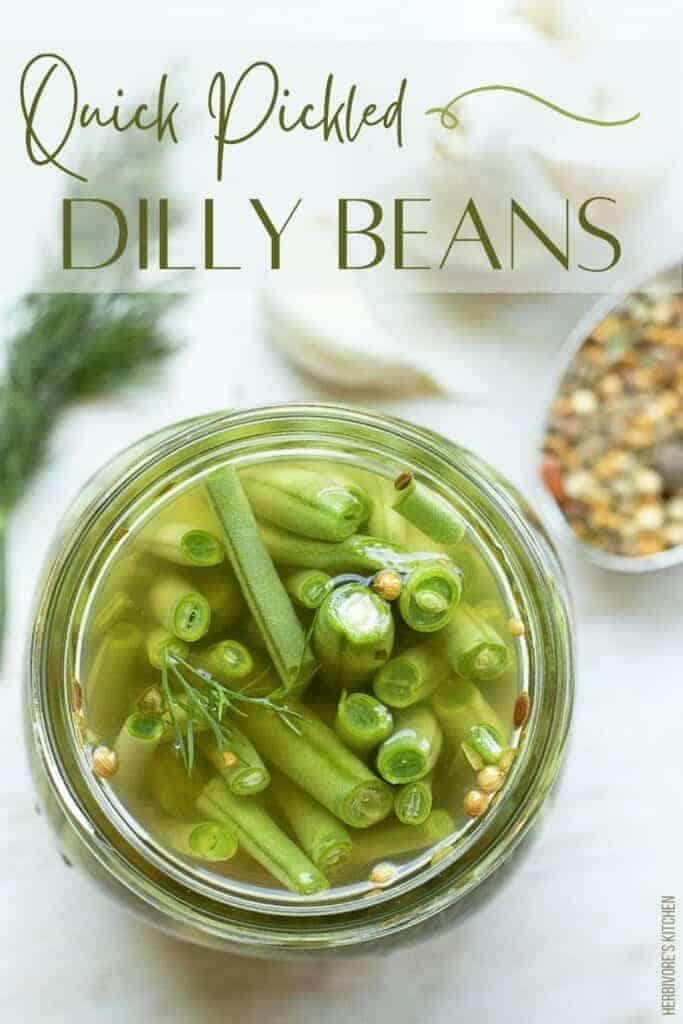 Quick Pickle Recipe Dilly Beans