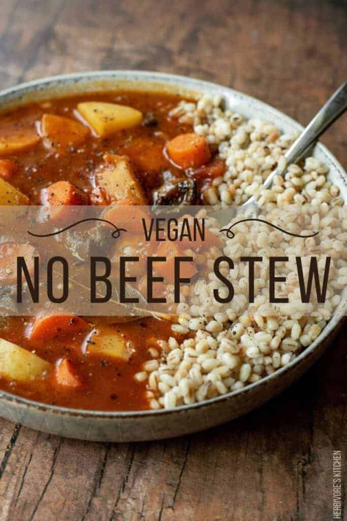 Vegan Beef Stew: Discover the Best Beef Stew Alternative with this Hearty Vegetable Stew