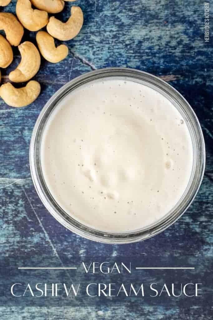 Vegan Cashew Cream Sauce Recipe
