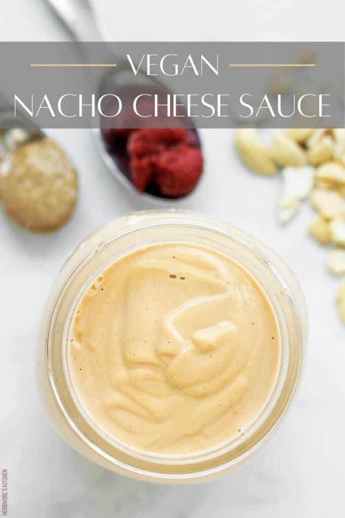 Vegan Nacho Cheese Recipe