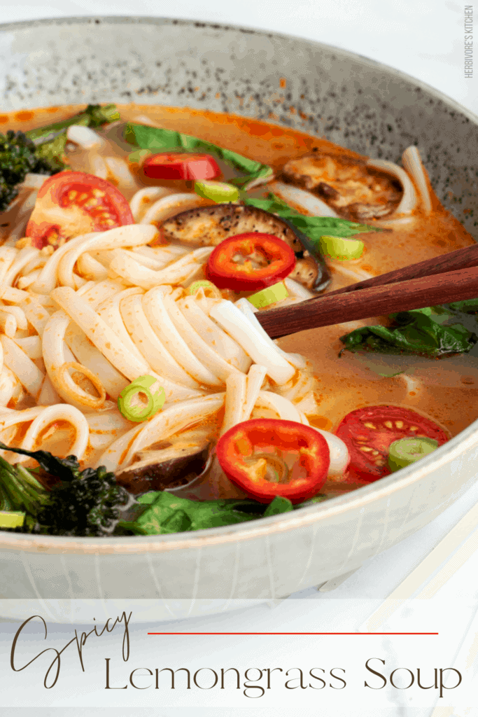 Thai Red Curry Lemongrass Soup Recipe