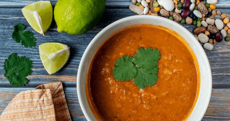 Vegan Thirteen Bean Soup