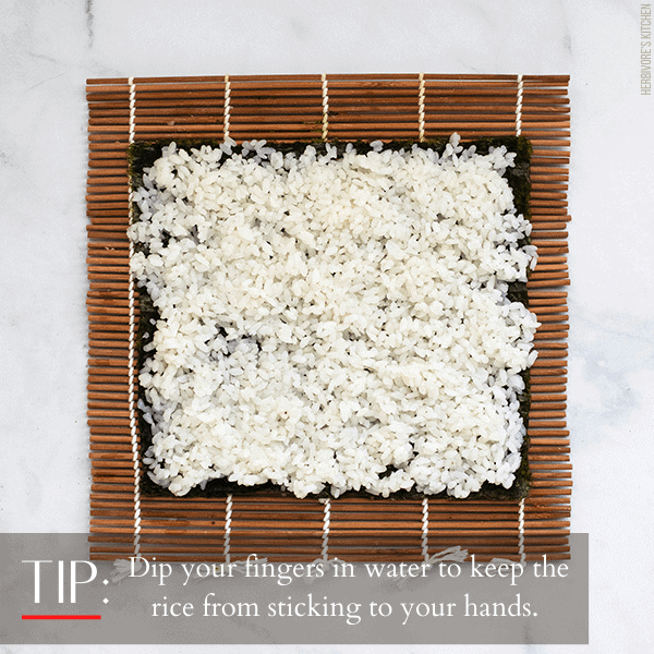 How to Make Sushi Step 2