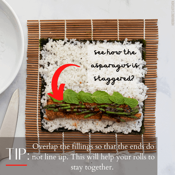 How to Make Sushi Step 3