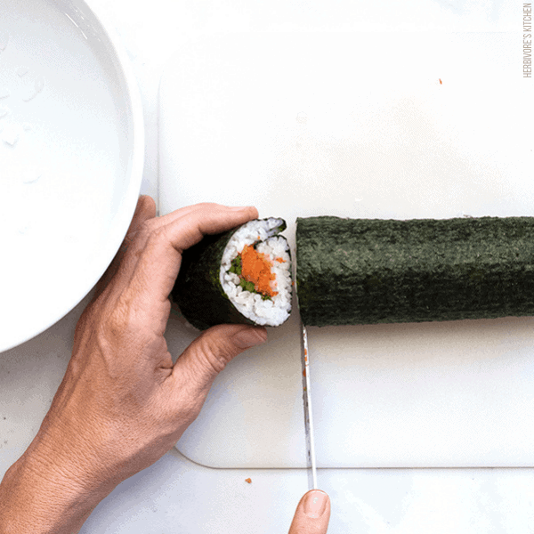 How to Make Sushi Step 6