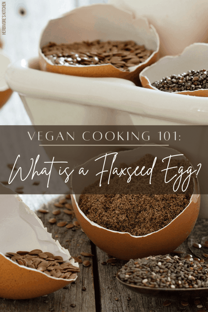 Vegan Cooking 101 What is a Flaxseed Egg