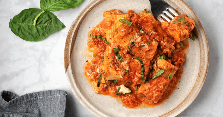 Vegan Baked Pasta Recipe