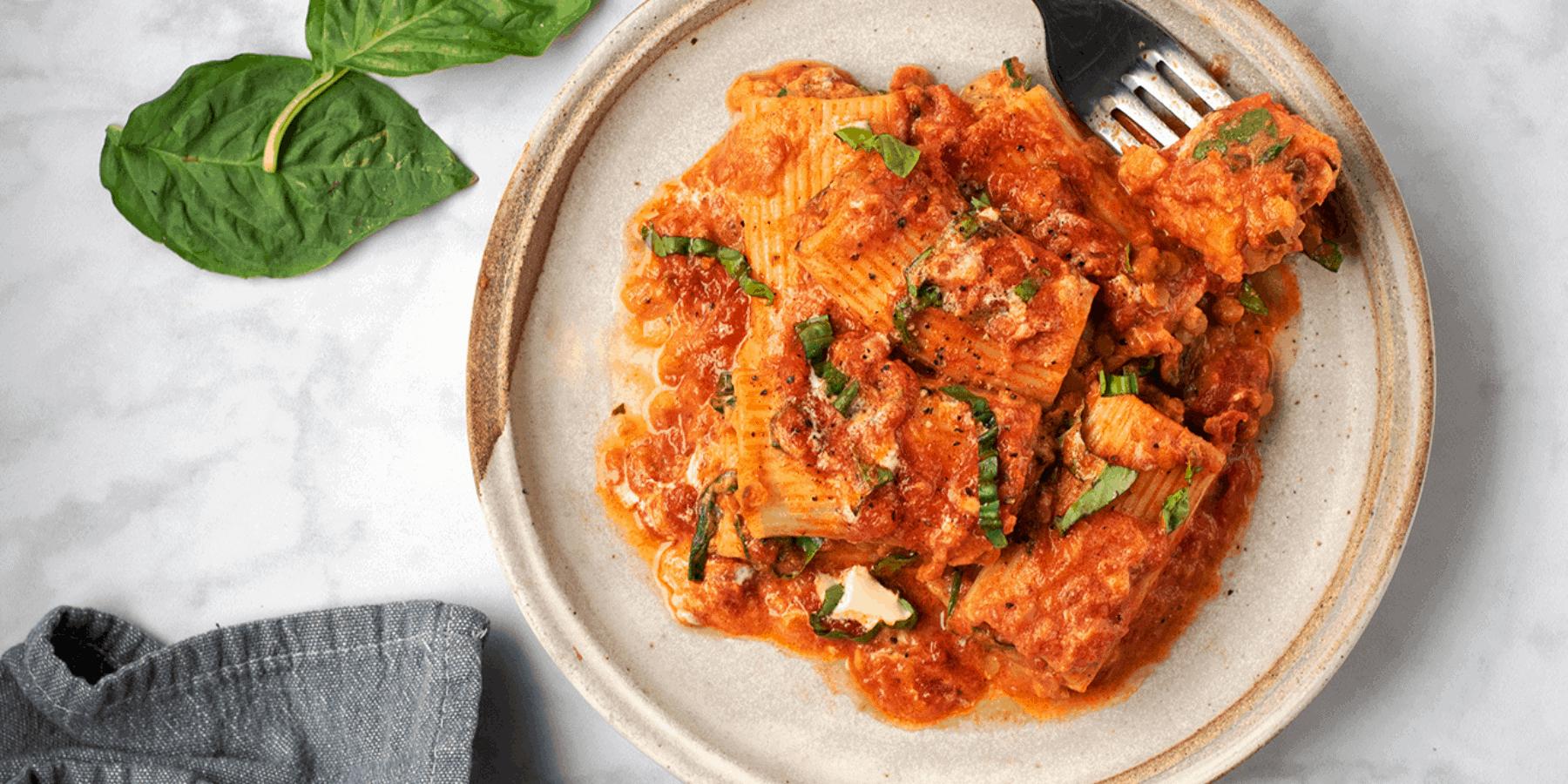 Vegan Baked Pasta Recipe