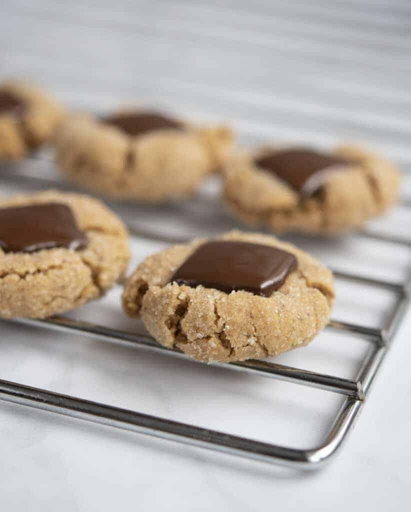 Vegan Peanut Butter Blossom Cookies Recipe