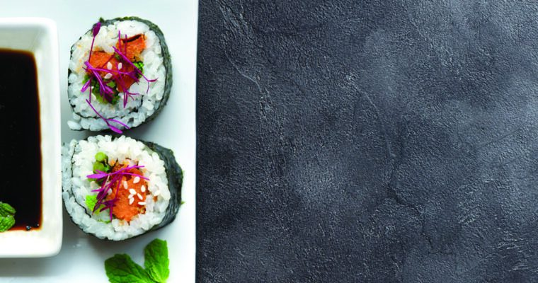 Vegan Sweet Potato Sushi Roll