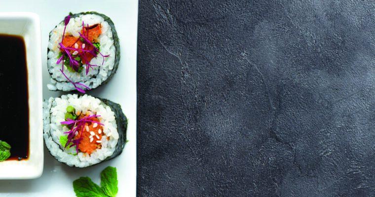 Vegan Sweet Potato Sushi Roll