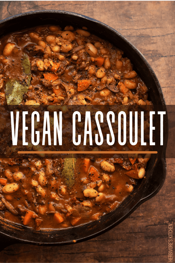 Vegan Cassoulet: This White Bean & King Oyster Mushroom Cassoulet is Every Bit as Delish as Its French Cassoulet Cousin!