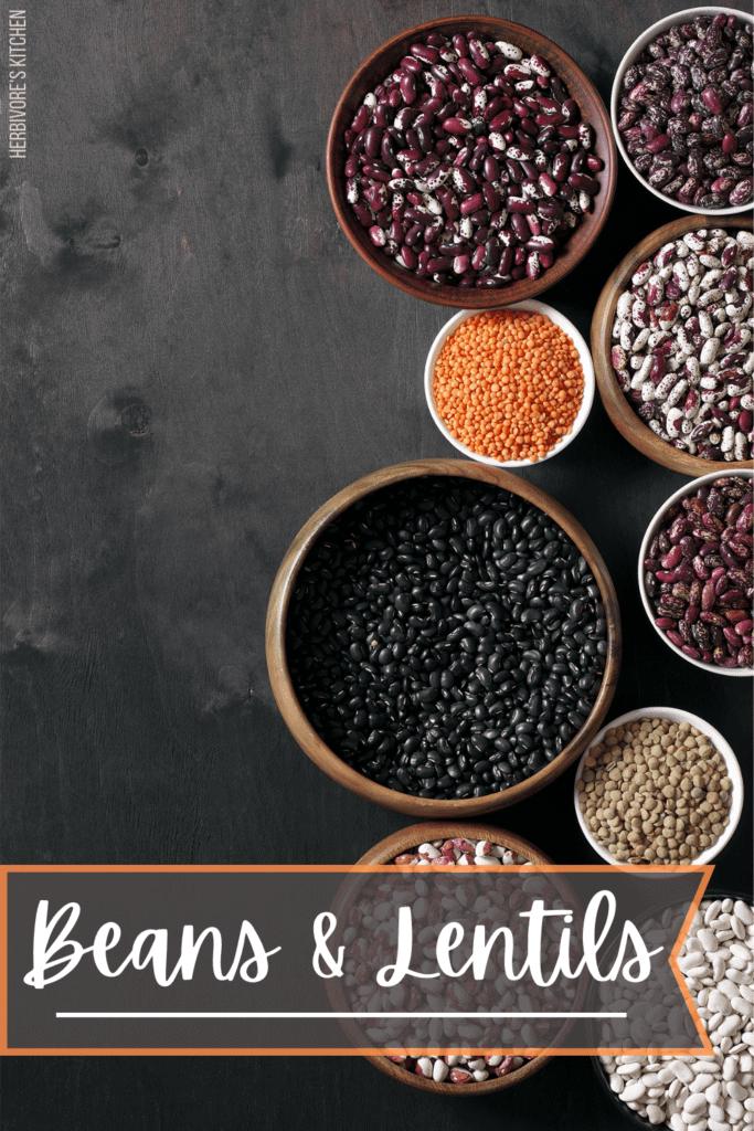 Vegan Essentials Beans & Lentils