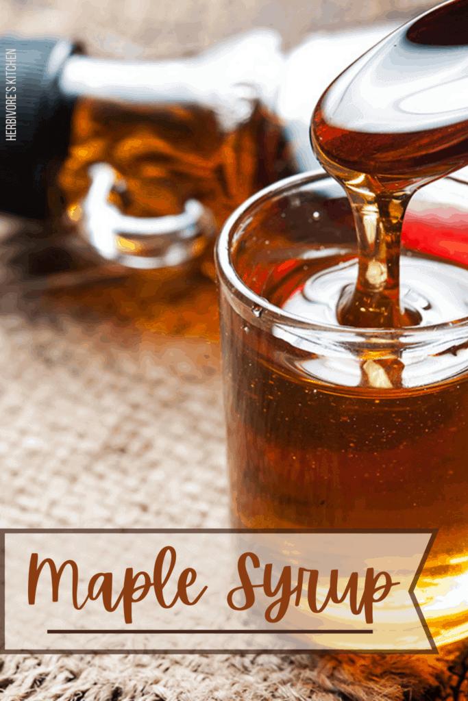 Vegan Essentials Maple Syrup