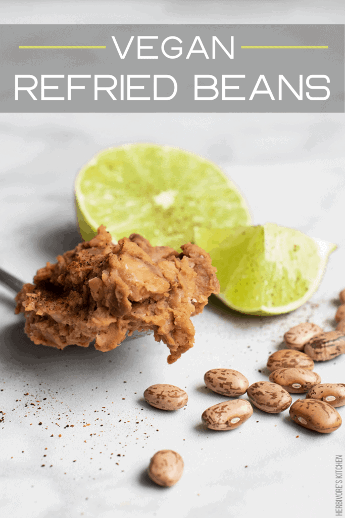 Vegan Refried Beans: Learn How to Make Homemade Refried Beans from Scratch