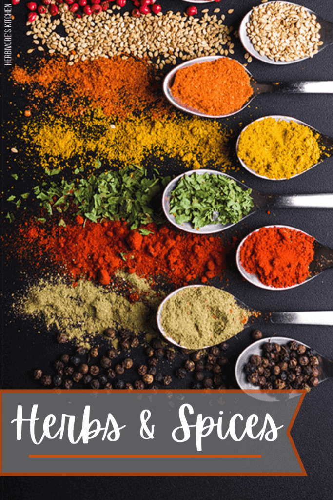 Vegan Staples Herbs and Spices