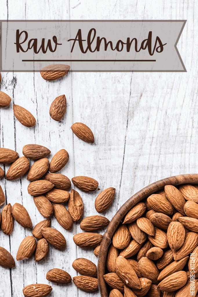 Vegan Staples Raw Almonds