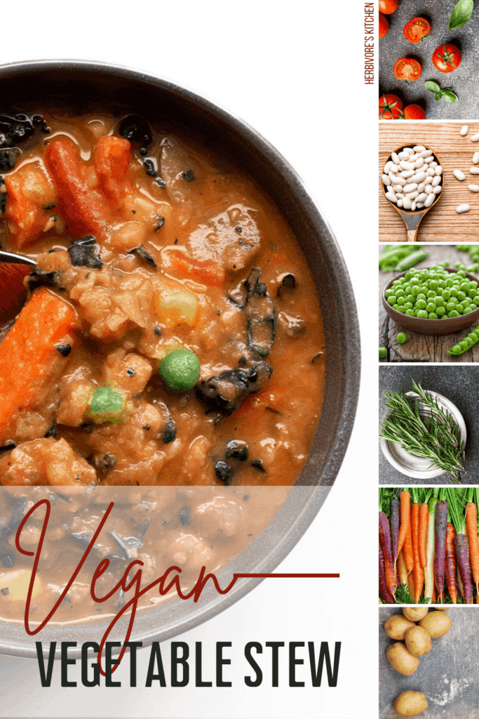 egan Vegetable Stew: Veggies Are the Showcase Ingredients in this Hearty Vegetable Stew!