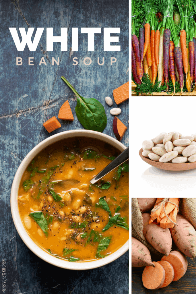 Vegan White Bean Stew: This Vegan White Bean Soup is So Seriously Creamy You'll Be Shocked It's Dairy-Free!