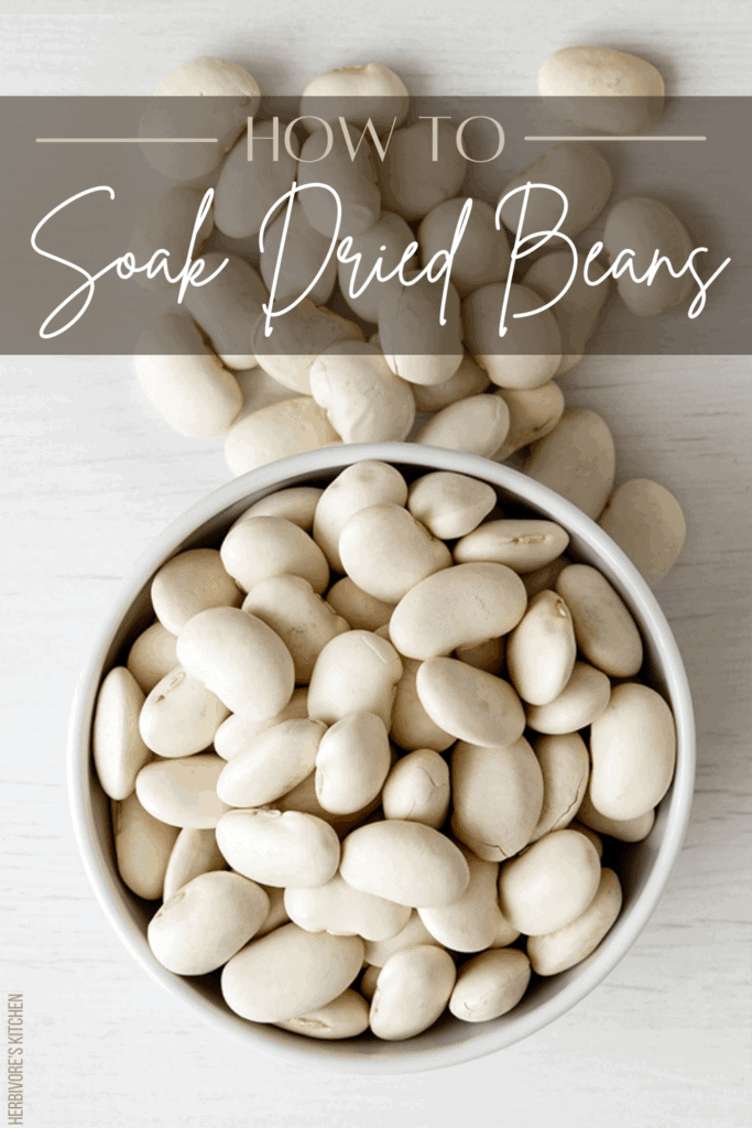 White Beans: How To Soak Dried Beans