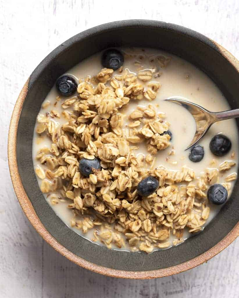 Small Batch Granola Recipes: This Easy Toasted Oat Granola Recipes Serves as the Base for Several Delicious Ways to Eat Granola!