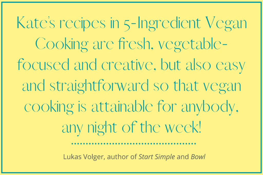 5-Ingredient Vegan Cooking Reviews
