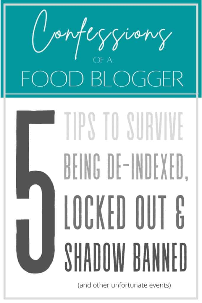 5 Tips to Survive Being De-Indexed Locked Out & Shadow Banned 3