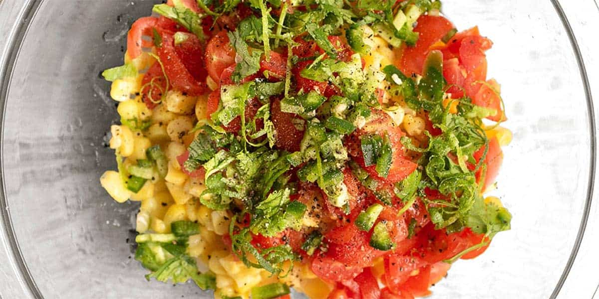 Sweet Corn Salsa Recipe