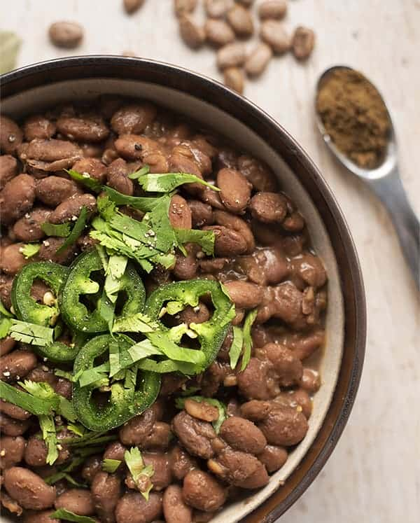 Vegan Charro Beans Recipe