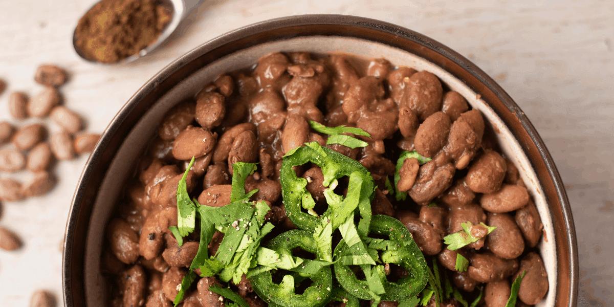 Vegan Charro Beans