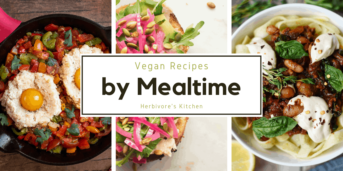 Vegan Recipes by Mealtime