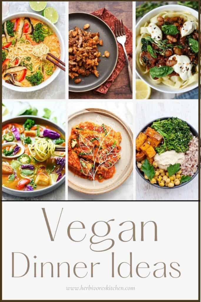 Vegan Recipes by Mealtime Vegan Dinner Ideas